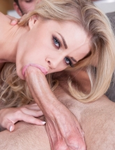 Jessa Rhodes sucking cock